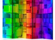 Paraván - Colour jigsaw II [Room Dividers]